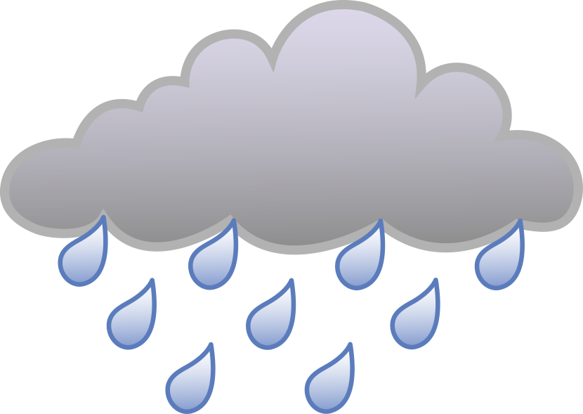 clip art stock  collection of cloud. Raining clipart.