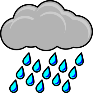 clip transparent stock Rain clipart. Sol lua nuvem e.
