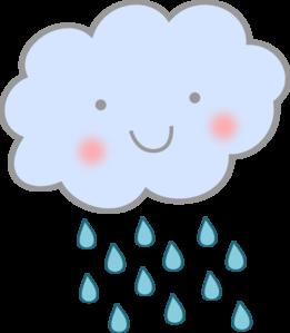 banner freeuse stock Rainy clipart. Cute rain cloud clip.