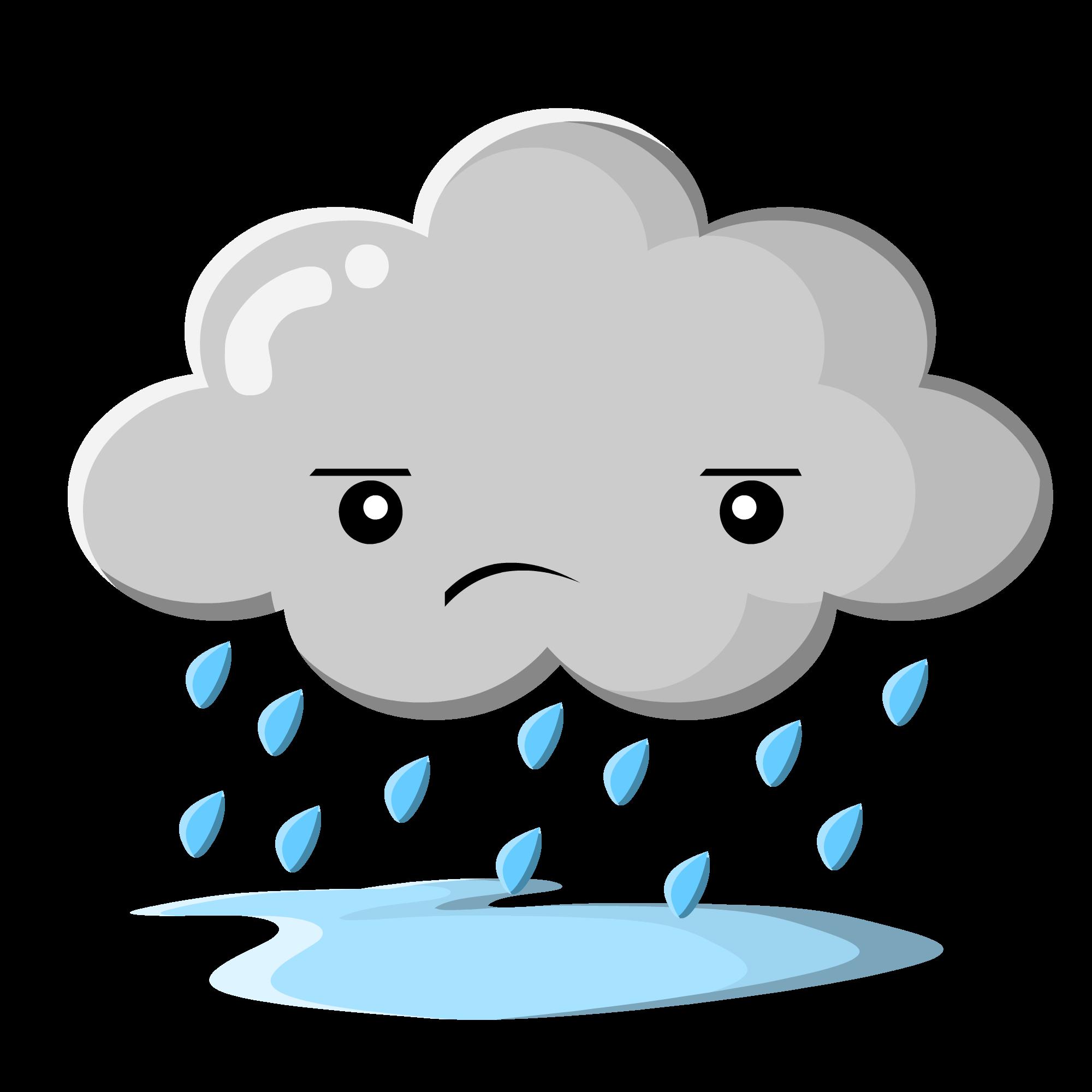 banner freeuse stock Rainy cilpart pretentious design. Raining clipart face
