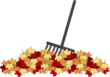 clip art free Rake clipart pile fall leaves. Leaf .