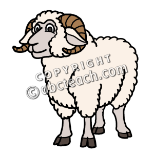 picture free download Ram clipart. Clip art cartoon sheep.