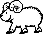 image royalty free library Clip art free panda. Ram clipart.