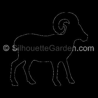 clipart download Ram clipart. Silhouette clip art download.