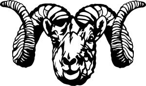 picture black and white download Dall sheep clip art. Ram clipart.