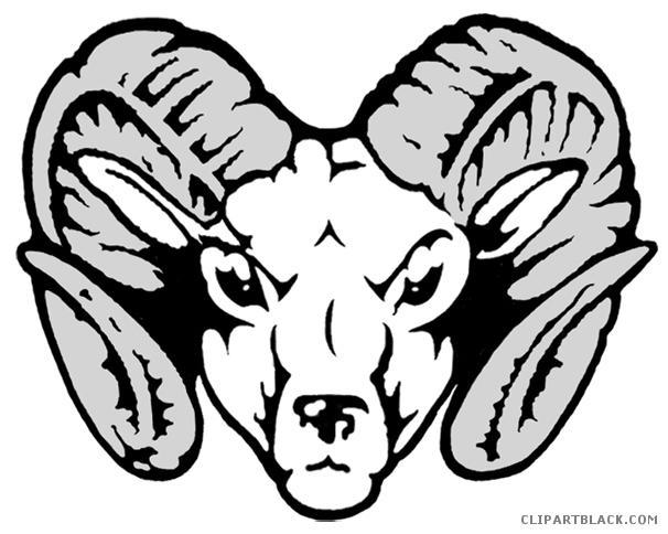 banner transparent library Ram clipart black and white. Page of clipartblack com