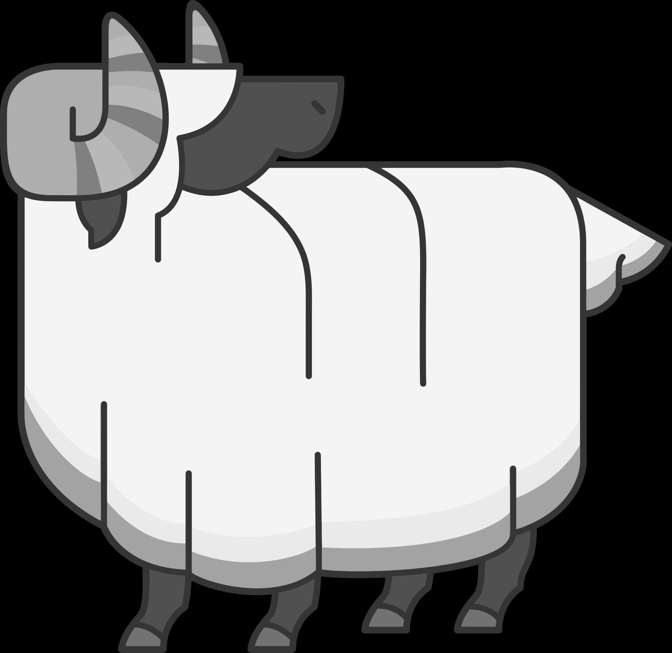 jpg black and white stock Ram clipart black and white. Clipartblack com animal free