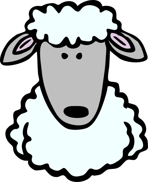 svg royalty free library Best photos of sheep. Lamb face clipart