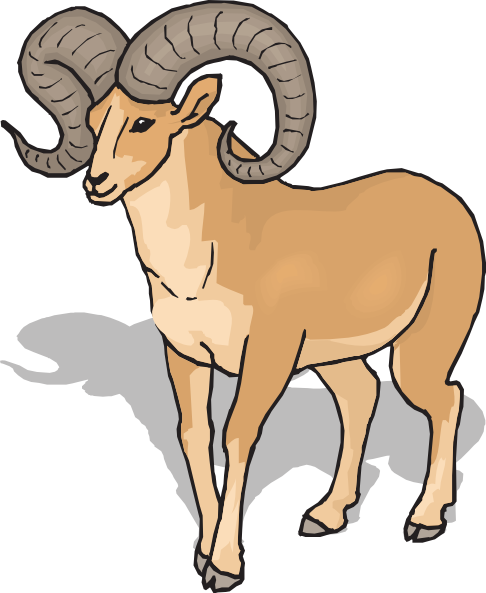 banner royalty free library Ram clipart. Top clip art free.