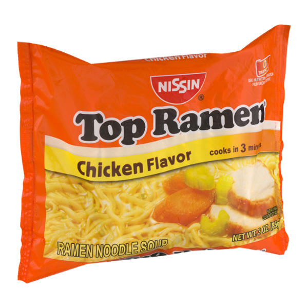 vector transparent stock Nissin top noodle soup. Ramen transparent