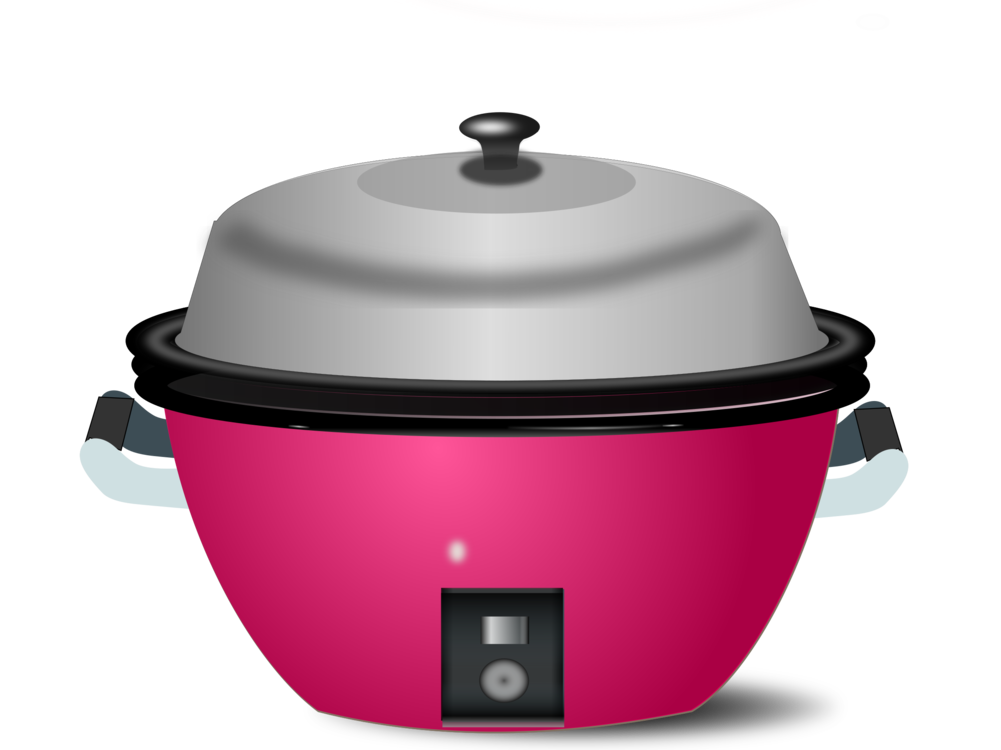 clip art transparent Cookers cooking ranges free. Toaster clipart rice cooker