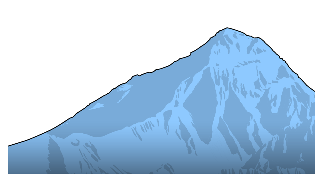 jpg royalty free download Range Clipart mountain summit