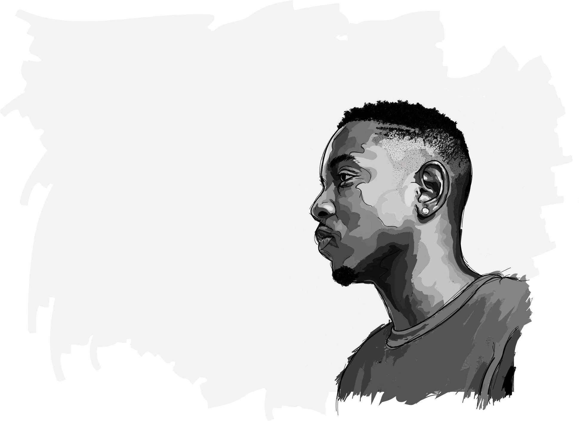 png Rapper drawings tumblr rappers. Drawing mirror realistic