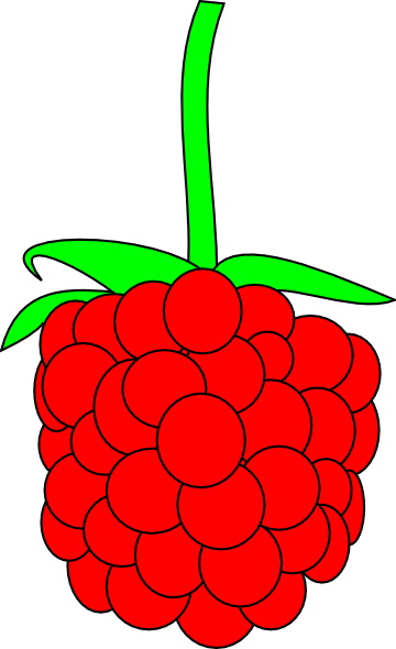 clipart library stock Simple clip art at. Raspberry clipart.