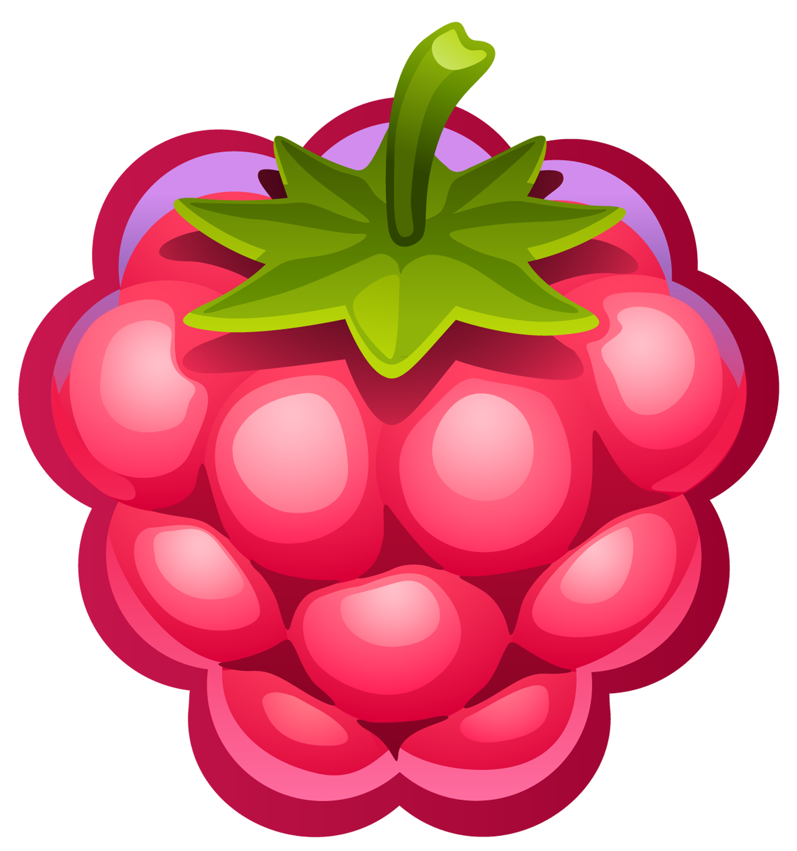 clip art library library Raspberry clipart. .