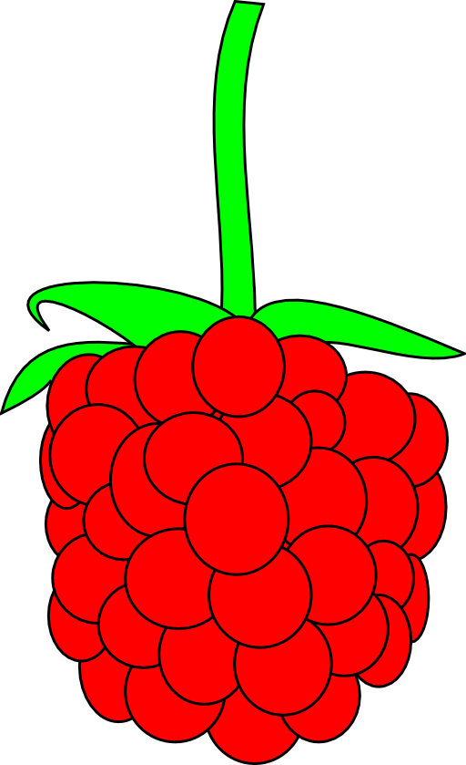 picture library download Simple Raspberry Clipart