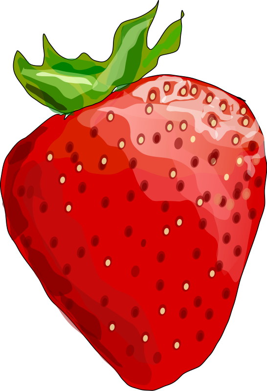 banner black and white stock Strawberry png image