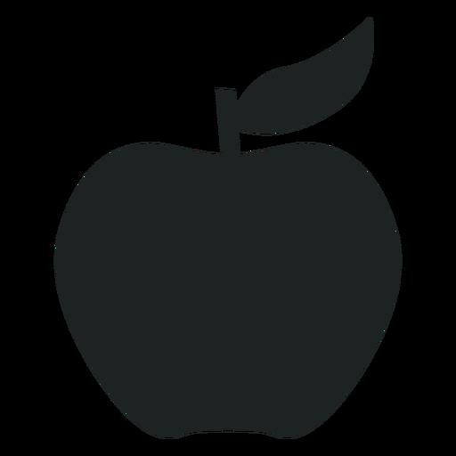 picture Apple silhouette icon