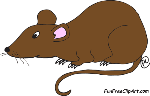 picture freeuse stock Lab fun free funfreeclipart. Rat clipart.