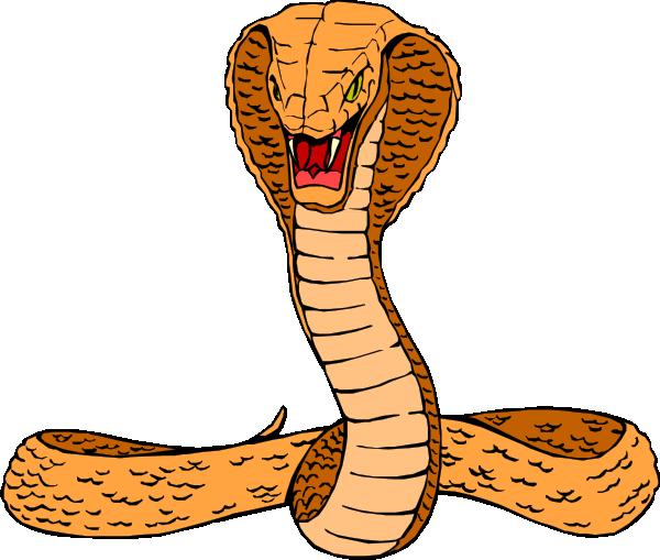 jpg free library Cobra clipart. Rattlesnake panda free images.