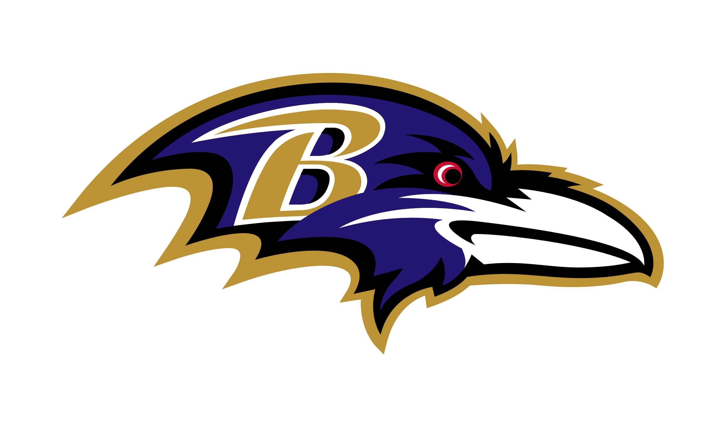 clip freeuse library Baltimore Ravens Logo PNG Transparent