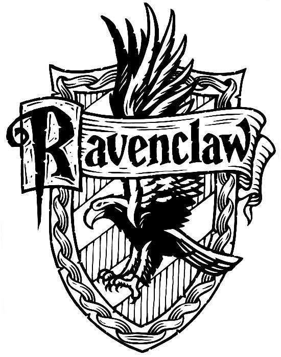 jpg library library Ravenclaw svg raven. Harry potter crest house