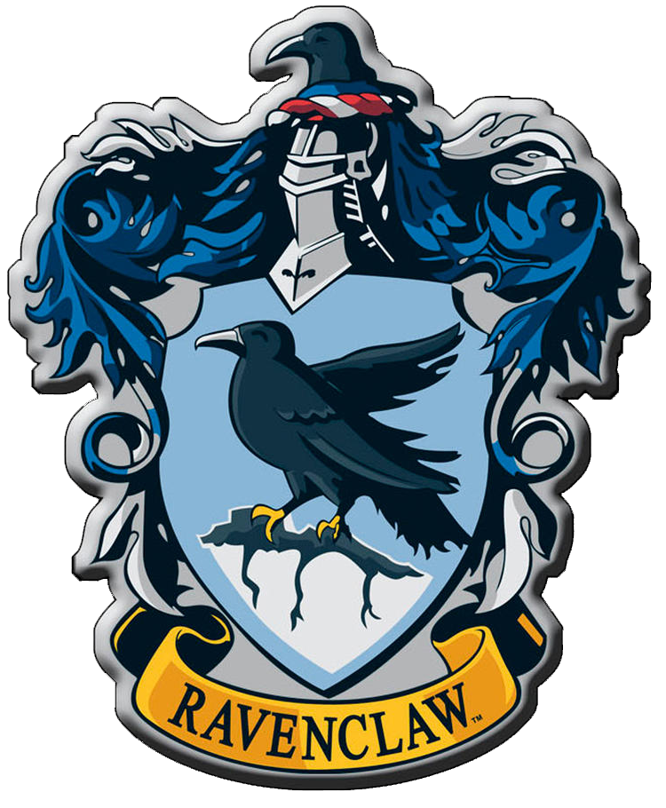 clip library library Ravenclaw transparent.  crest png for.