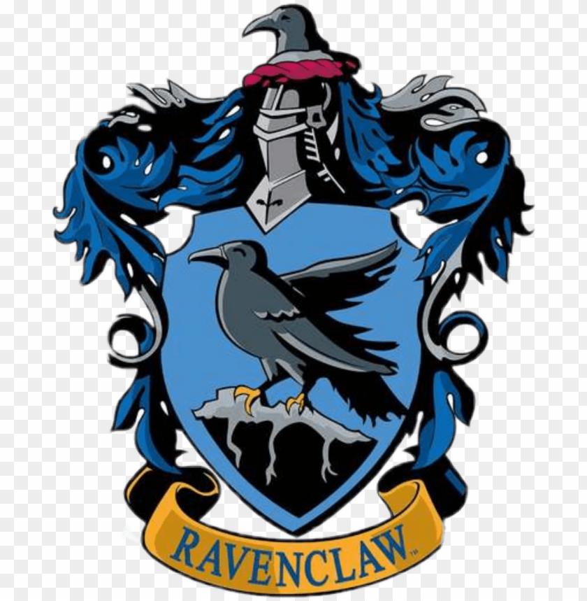 clip art free Ravenclaw transparent. Sticker hogwarts house crest.