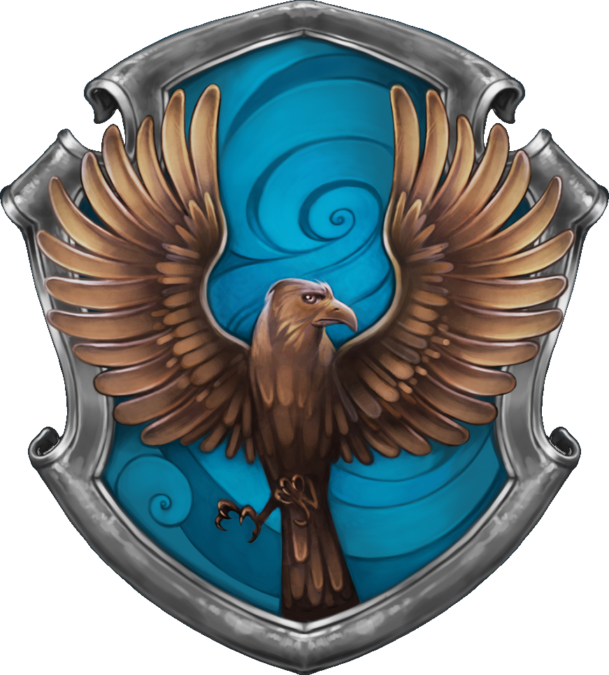 svg library download Ravenclaw svg raven. Image crest transparent png