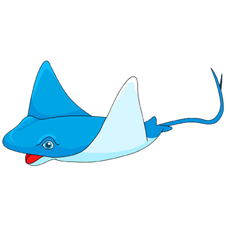 graphic royalty free Clipart stingray. Ray at getdrawings com