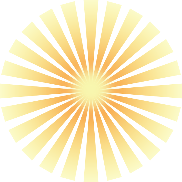 picture freeuse download Sun clip art at. Rays clipart.