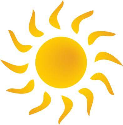 svg library library sun symbol bent rays