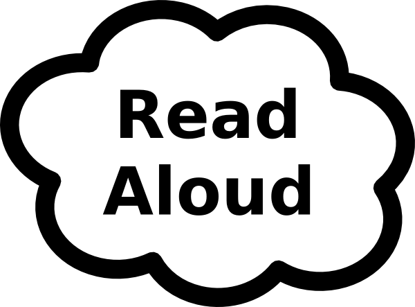 png free stock Read Aloud Clip Art at Clker
