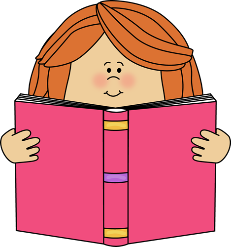 png Girl Reading Clip Art