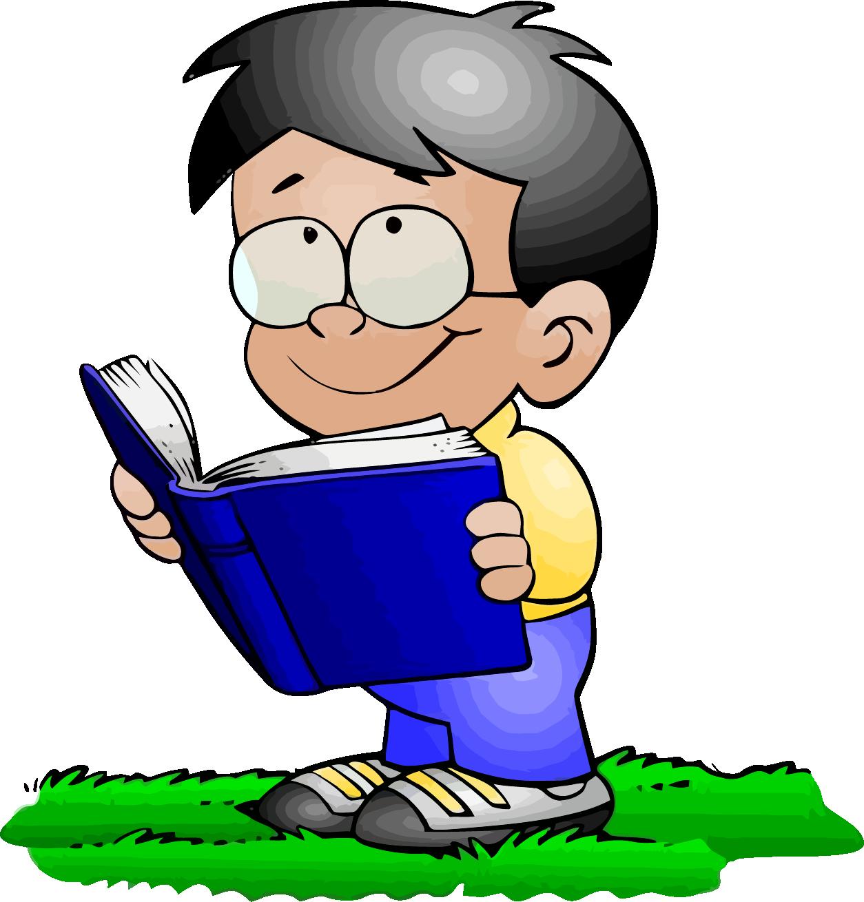 clipart Read clipart. A book boy clipartly.