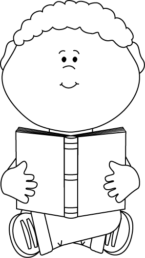 png transparent download Reading Book Clipart Black And White