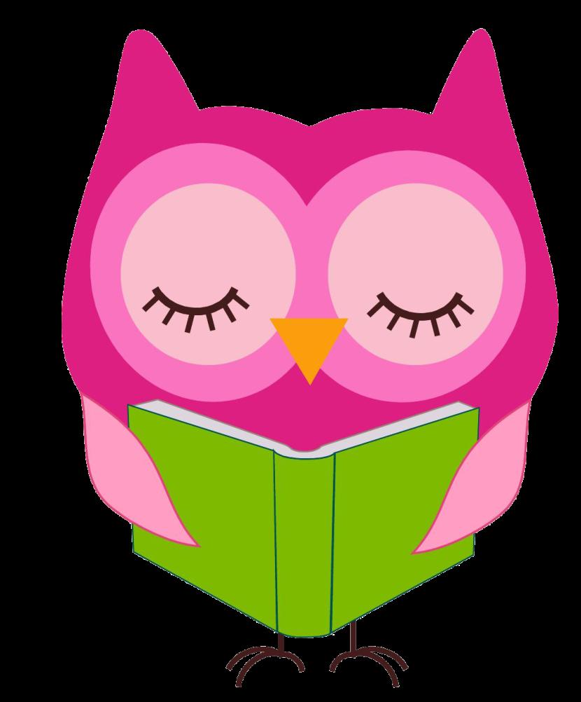 jpg black and white Reading clipart. Owl clipartix .
