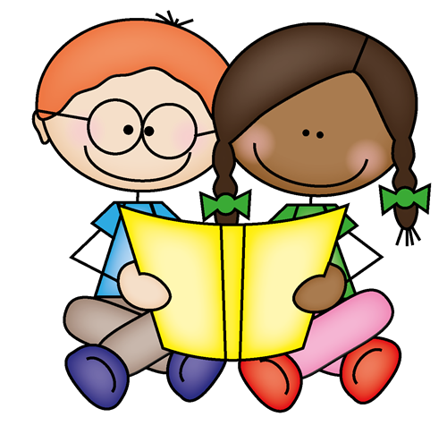 freeuse library Free. Reading clipart for kids