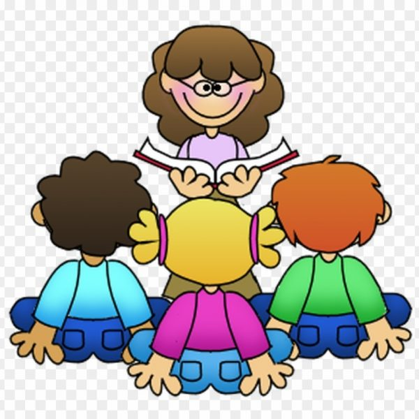 picture transparent Guided reading student clip. Teacher students clipart