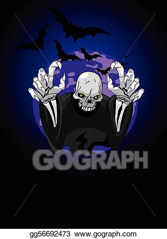 png library Reaper vector. Clipart halloween horrible grim