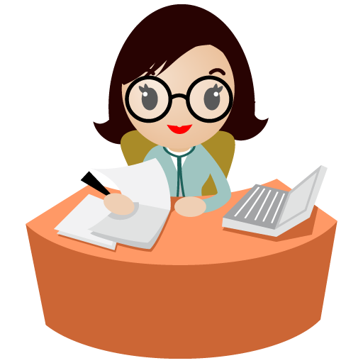 graphic free stock Receptionist clipart.  collection of medical.