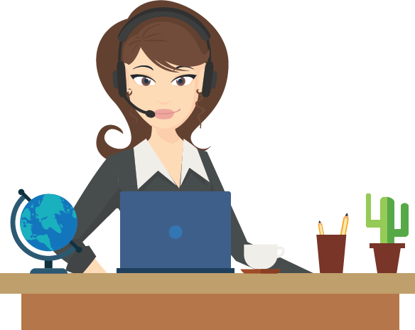 clip art transparent  collection of png. Receptionist clipart.