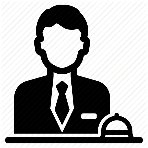 jpg black and white library Receptionist clipart reception couple. Pixa vol by ricardo
