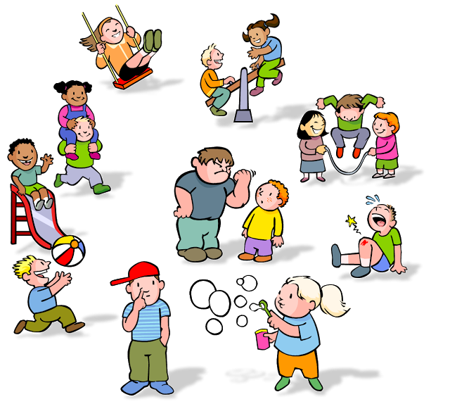 freeuse Kids at png clipartix. Recess clipart.