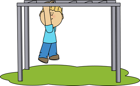 png transparent stock Playing on monkey bars. Jungle gym clipart black and white