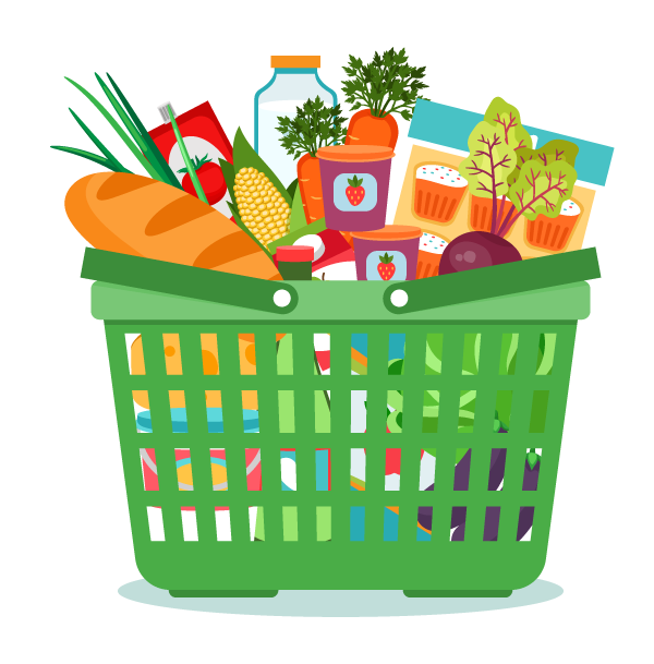 image free Boxes clipart groceries. Organic fruit vegetables delivered.