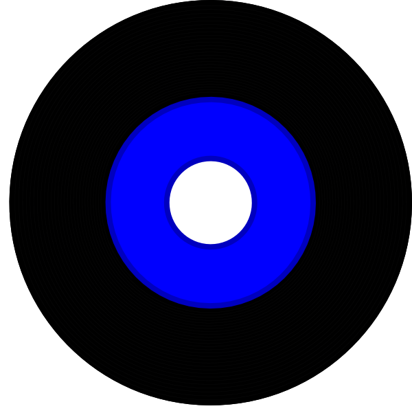 transparent download Record clipart. Black vinyl clip art