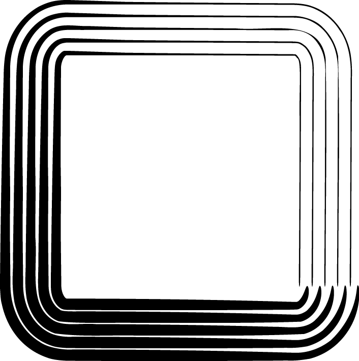 image freeuse library Square clip art panda. Rectangle clipart black and white.