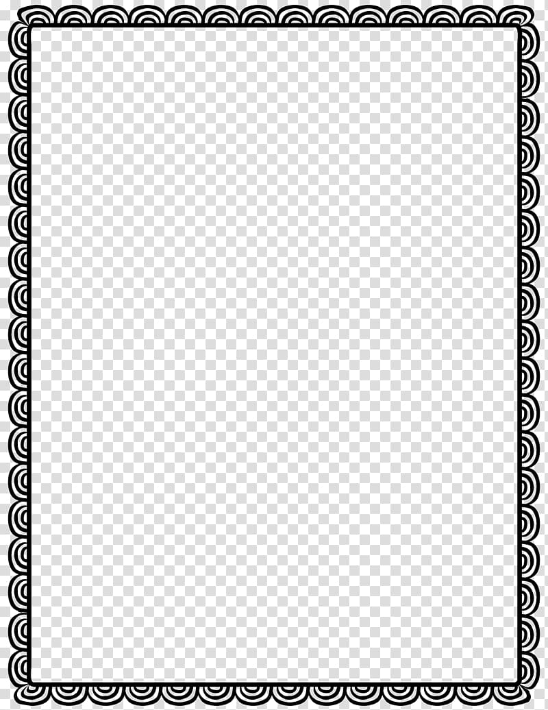 freeuse Rectangular black border borders. Drawing rectangle transparent background
