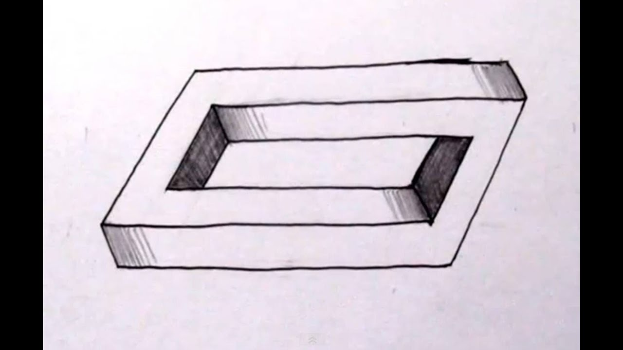 transparent How To Draw The Impossible Penrose Rectangle